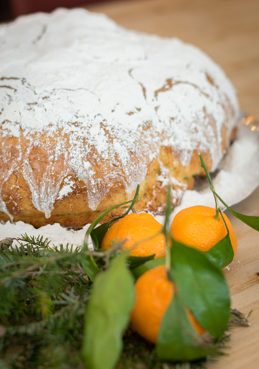 Vasilopita Greek New Years Bread