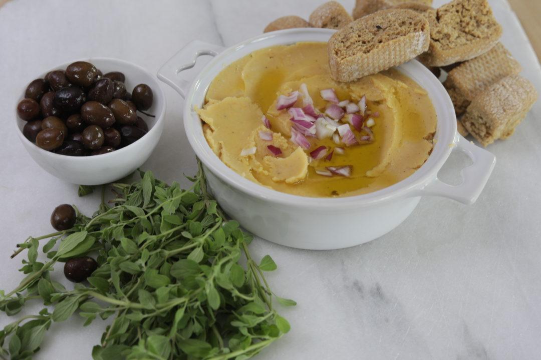 Santorinian Fava Bean Dip at Nostimo Kitchen