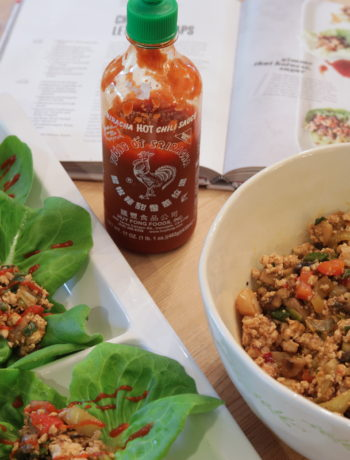 Chrissy Teigen's Chicken Lettuce Wraps - Nostimo Kitchen by Chef Toni